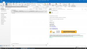 Mit dem Outlook Add-In legen Sie E-Mails oder Terminanfragen direkt in der digitalen Bauakte ab.