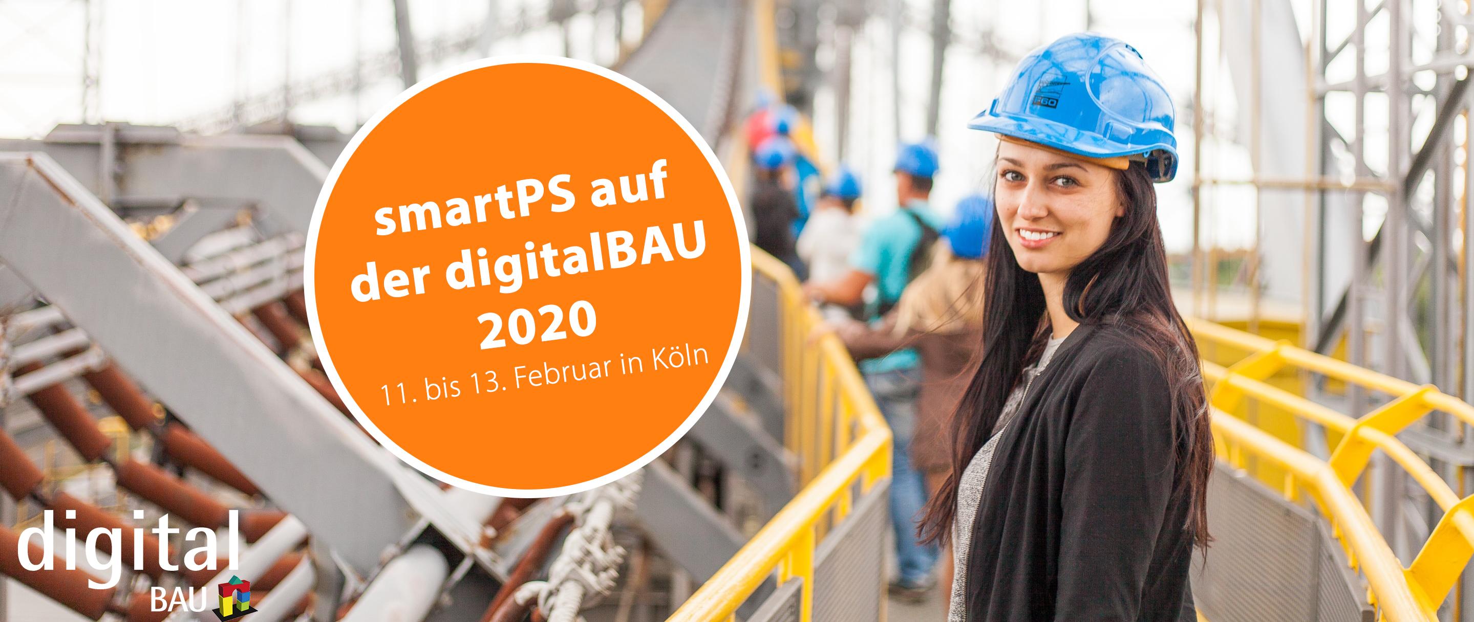smartPS auf der digitalBAU 2020 in Köln