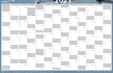 Jahresplaner/Wandkalender 2021